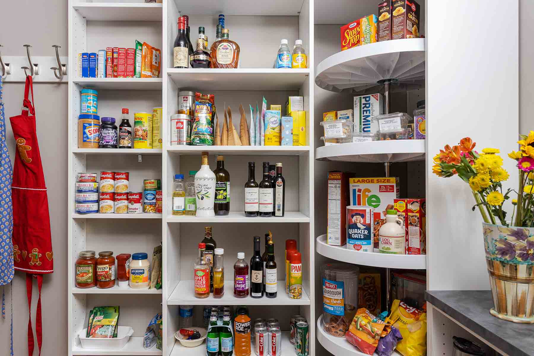 Pantry Closet Designs- Get Organized Today!!