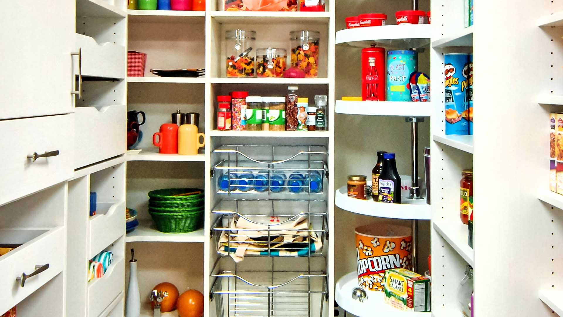 Get Organized with Pantry Closet Designs