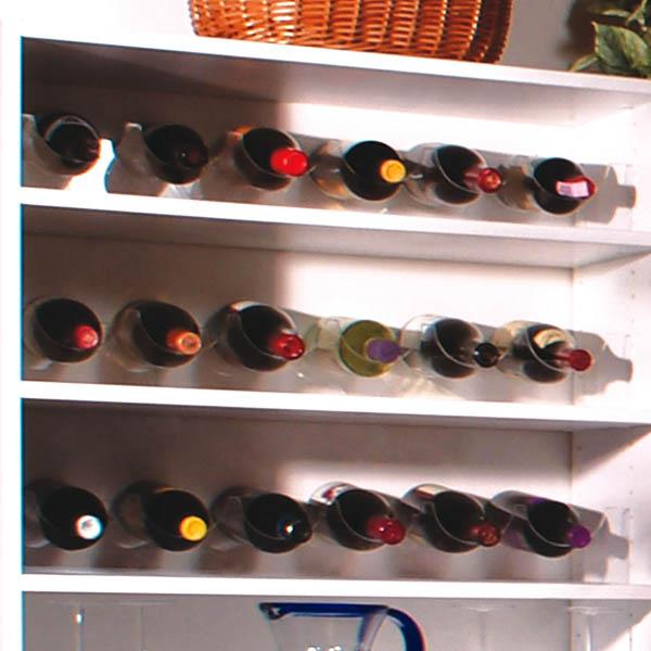 Featured Design Custom Walk in Pantry   Wine Rack Horizontal