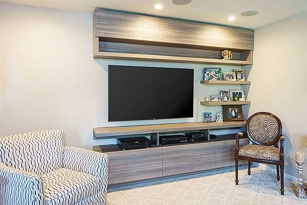 Media Center And Wall Unit Storage Ideas That Reduce Clutter