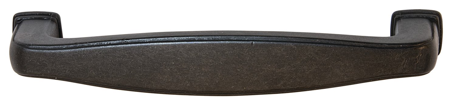Keystone Pull, Antique Black, 96mm