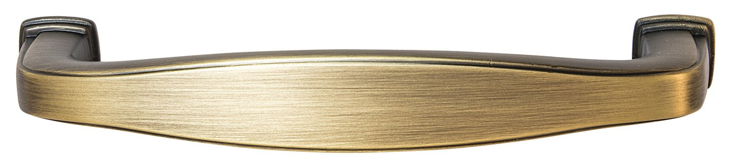 Keystone Pull, Antique Bronze, 96mm