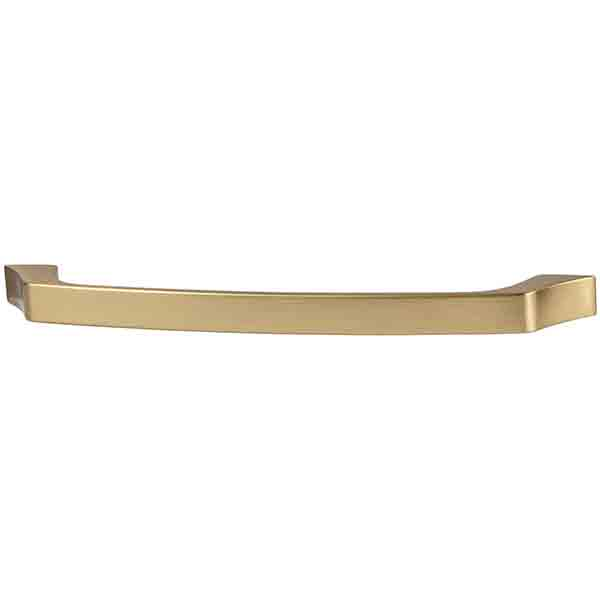 Beveled Pull, Matte Gold, 160mm