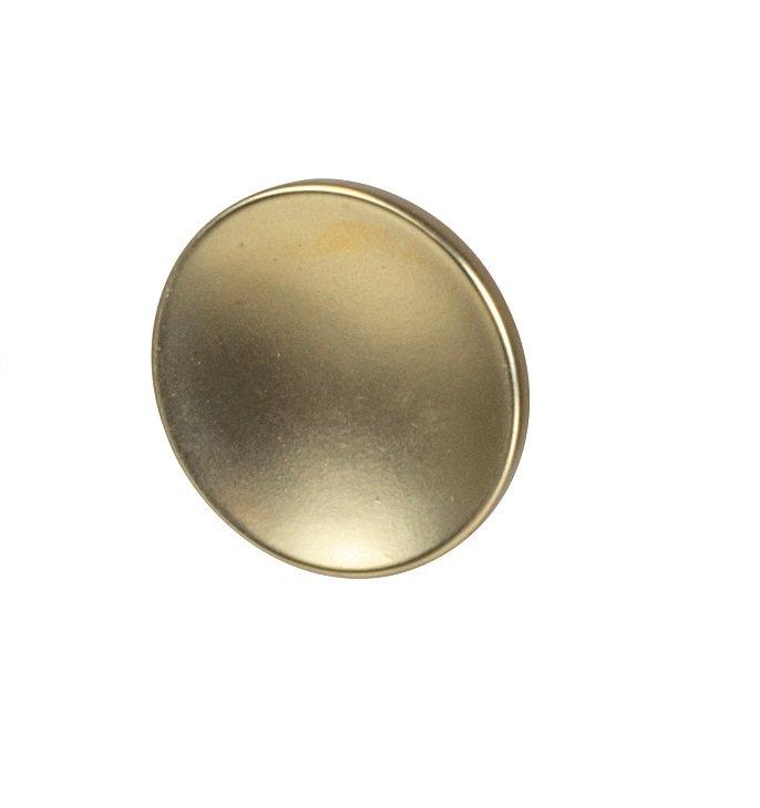 Dish Knob, Matte Gold