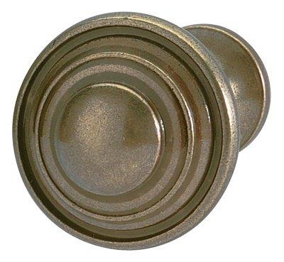 Concentric Circles Knob, Antique English