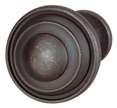 Concentric Circles Knob, Oil Rubbed Bronze