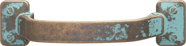 Tresor Pull, Rustic Copper, 96mm