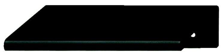 Platform Handle, Black, 50mm