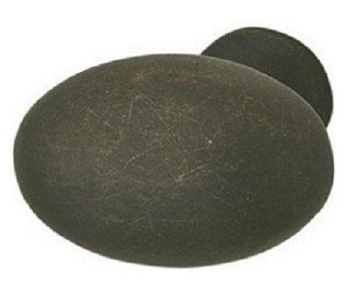Flat Oval Knob, Oil Rubbed Bronze, (35x35x23)