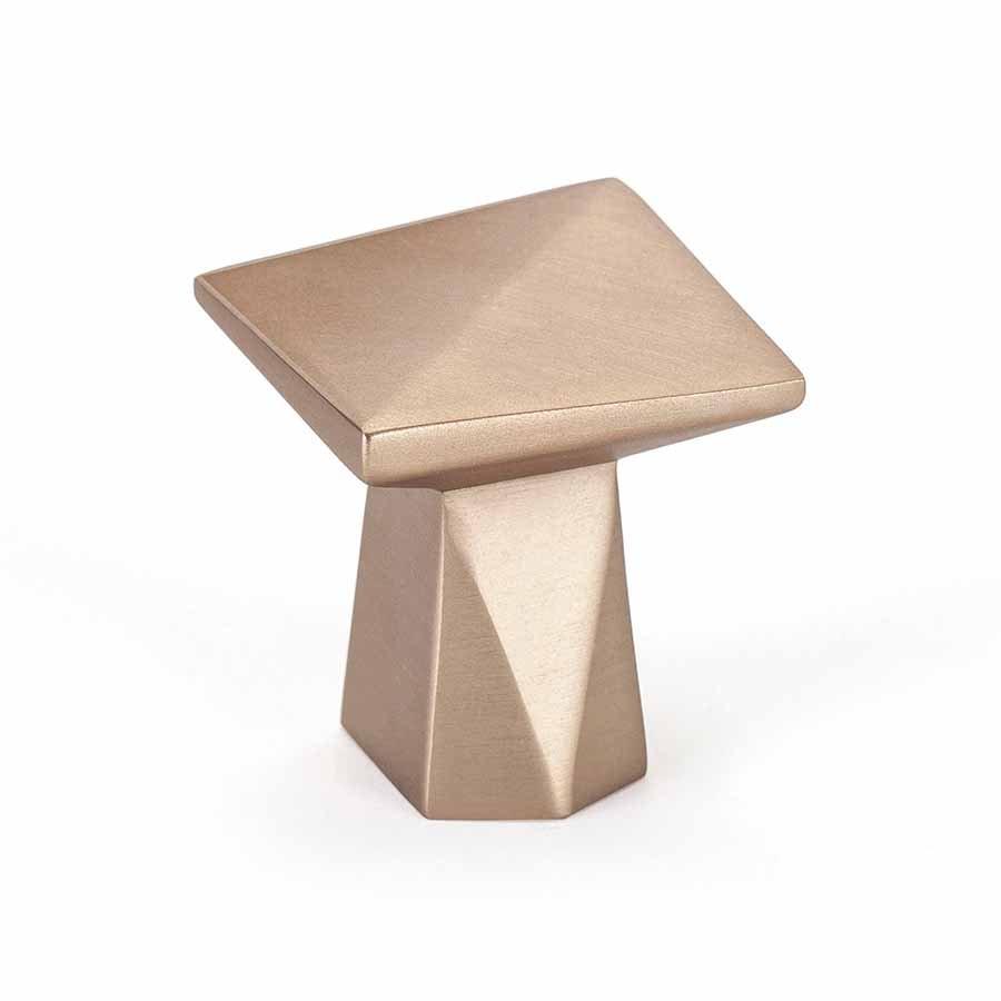 Swagger Knob, Modern Bronze