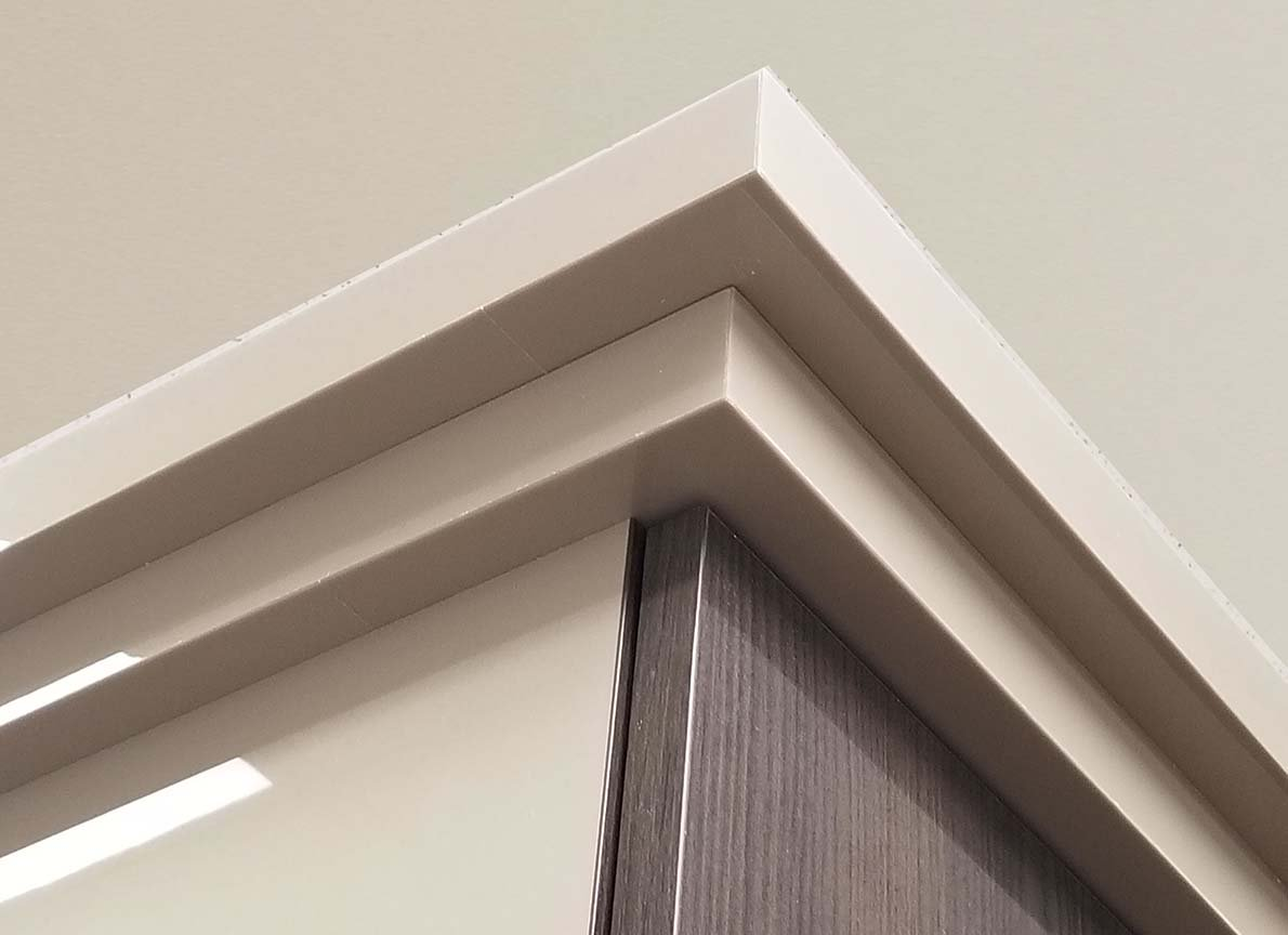 Custom 2 Tier Crown Molding