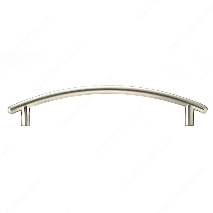 Bridge Pull, Satin Nickel, 128mm