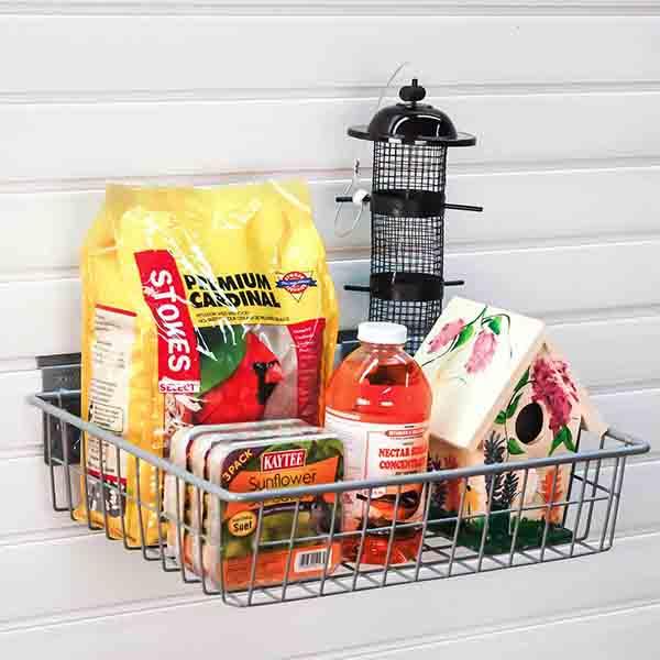 storeWALL Square Shallow Basket