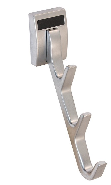 Synergy Waterfall Hook, Matte Aluminum