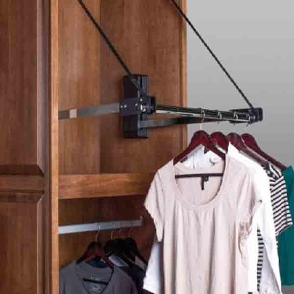 Automated Pull Down Closet Rod