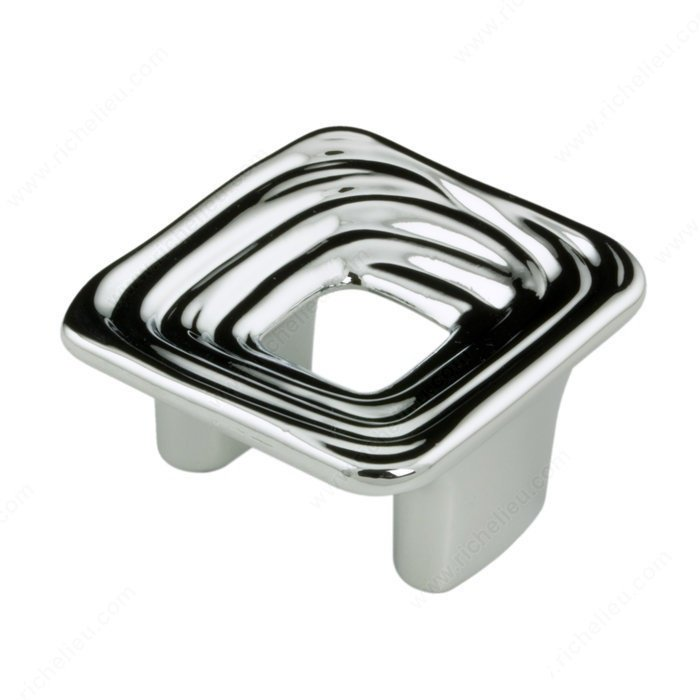 Ripple Pull, Polished Chrome, 32mm