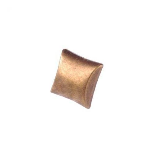 Flare Knob, Burnished Brass