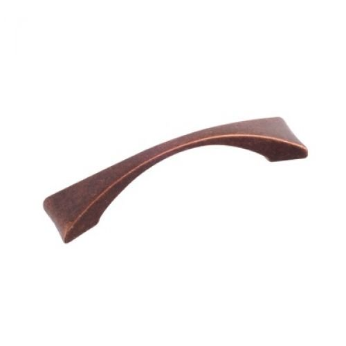 Flare Pull, Antique Copper, 96mm