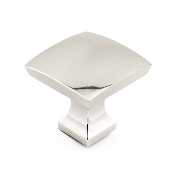 Pedestal Knob, Polished Chrome