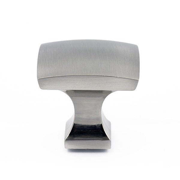 Pedestal Knob, Satin Nickel