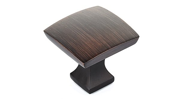 Pedestal Knob, Brushed Oil Rubbed Bronze
