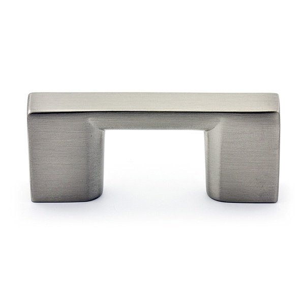 Rectangular Pull, Brushed Nickel, 32mm