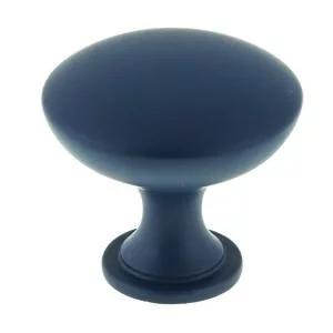 Standard Hollow Knob (Flatter top), Indigo, 30mm