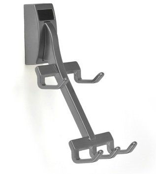 Wall Mount Synergy Belt Rack, Slate