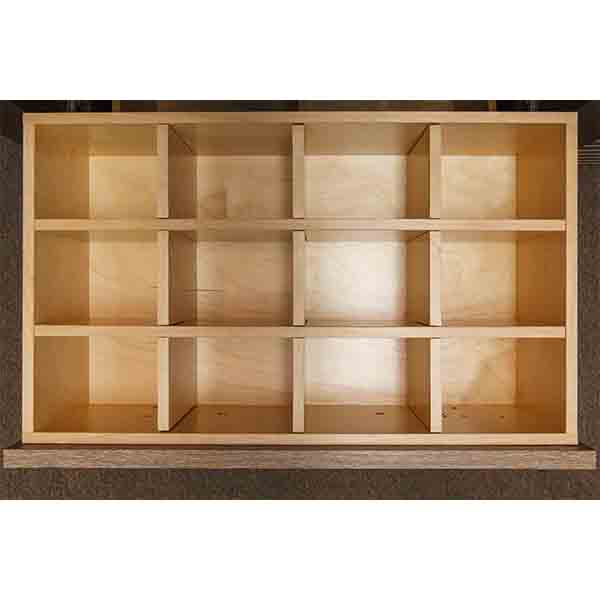 Birch Dividers – 12 cubbies