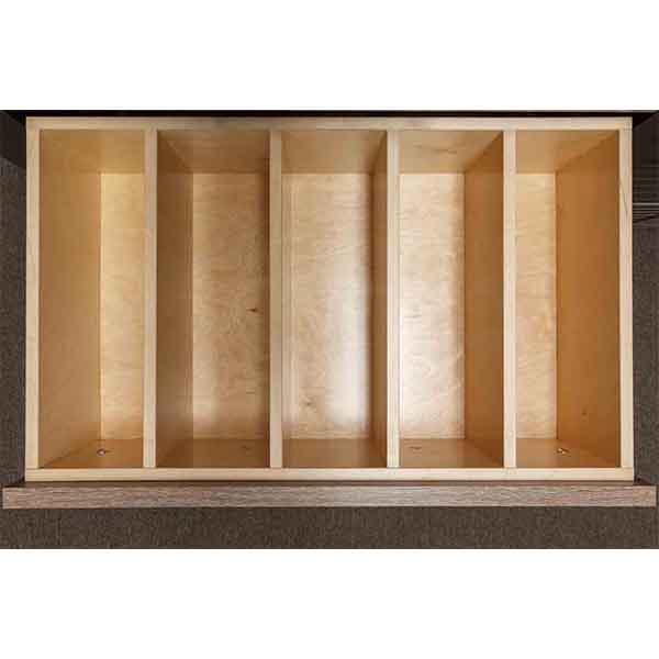 Birch Dividers - 5 sections