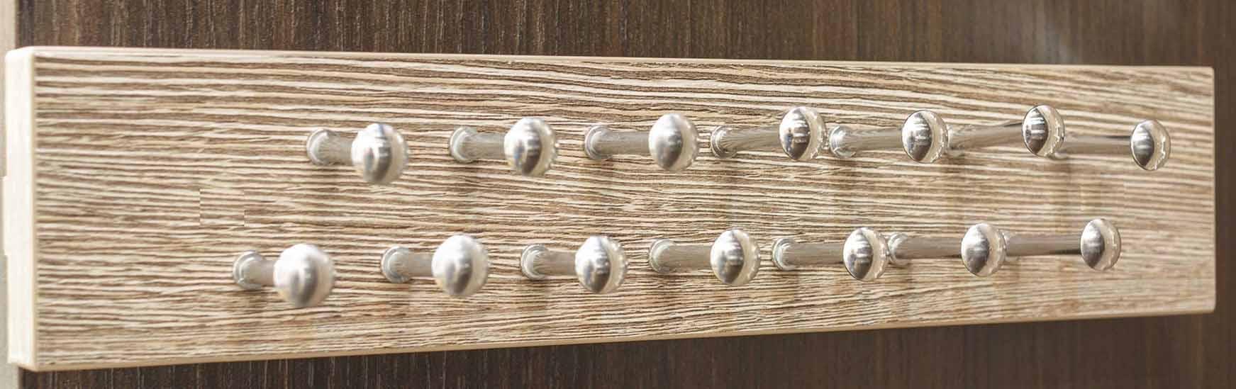 Custom In House Tie Rack