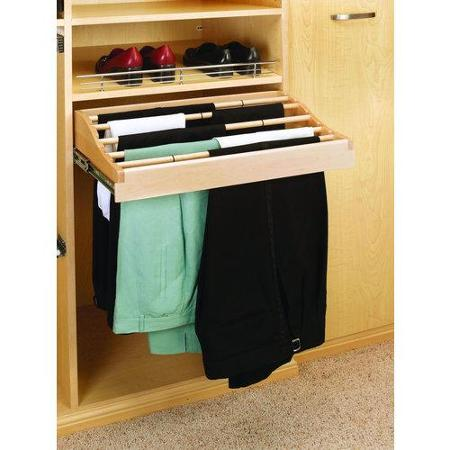 Pants Rack Pull Out, Maple