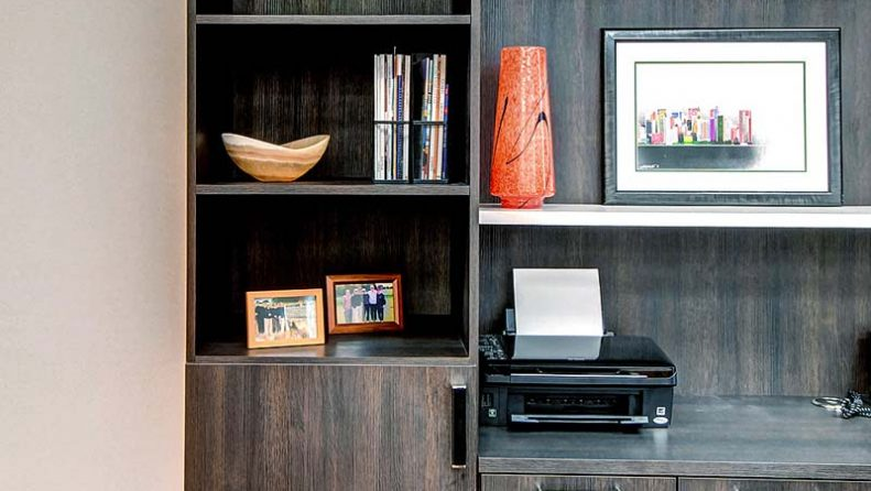 Custom Home Office accessories and decorative hardware