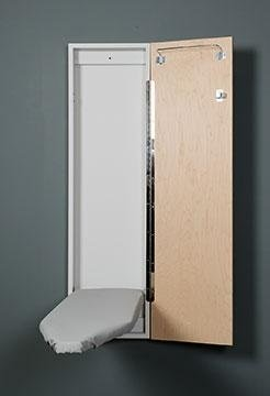 Iron-A-Way Wall Mount 42 inch Ironing board with cabinet
