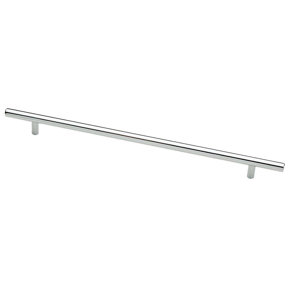 Bar Pull, Polished Chrome, 256mm