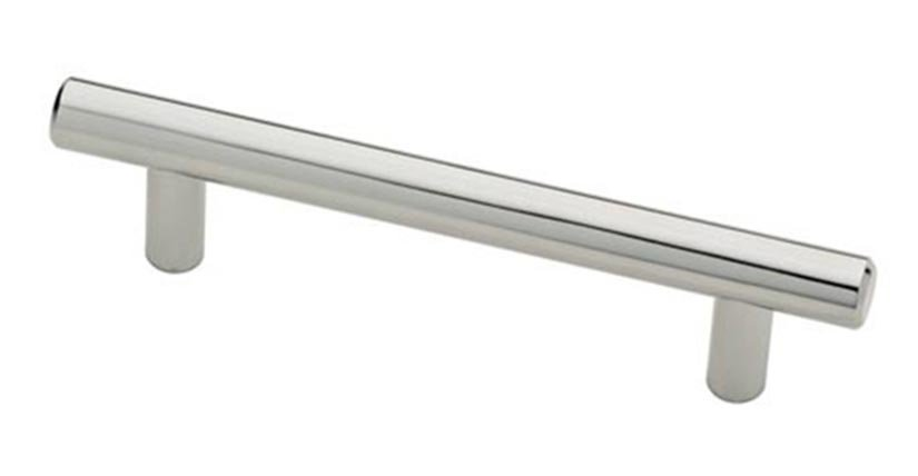 Bar Pull, Polished Chrome, 96mm