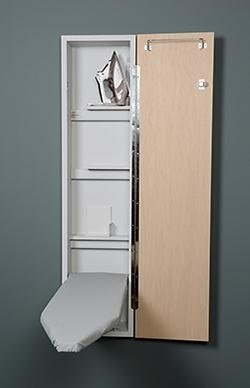 Iron-A-Way Wall Mount 46 inch Ironing board with cabinet