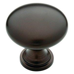 Standard Knob (Flatter top), Oil Rubbed Bronze, 30mm