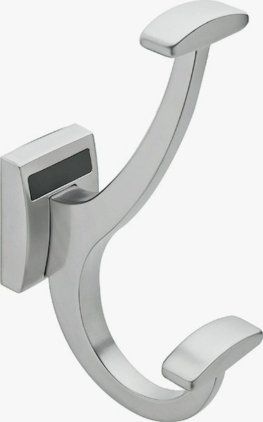 Synergy Robe Hook, Matte Aluminum