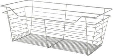 Slide-Out Basket, Satin Nickel