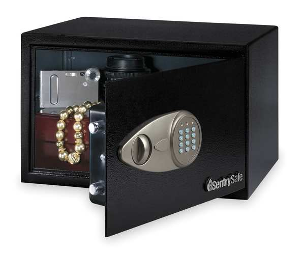 Steel Security Safe, 0.5 cu ft capacity