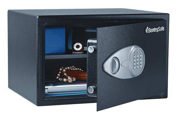 Steel Security Safe, 1.2 cu ft capacity