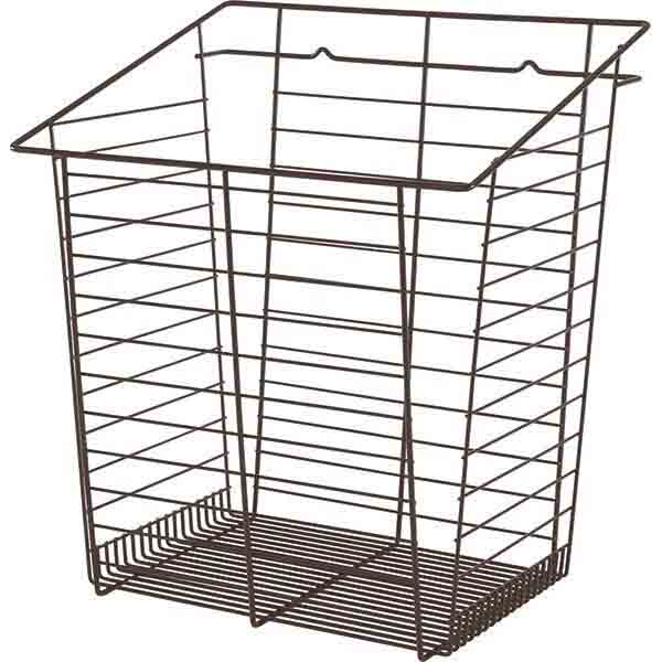 Tilt-Out Hamper Basket, Oil Rubbed Bronze