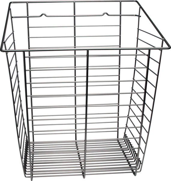 Tilt-Out Hamper Basket, Slate