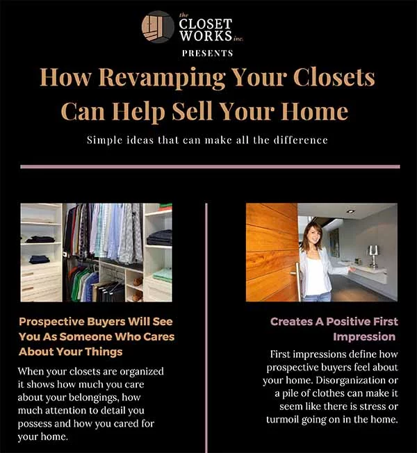 Ideas For Organizing Closets When Selling Your Home