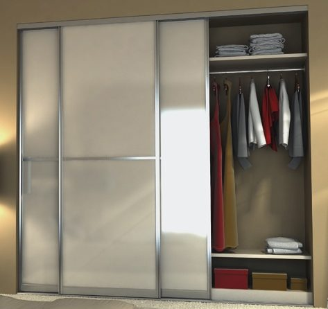 Custom sliding doors with accessory hardware options