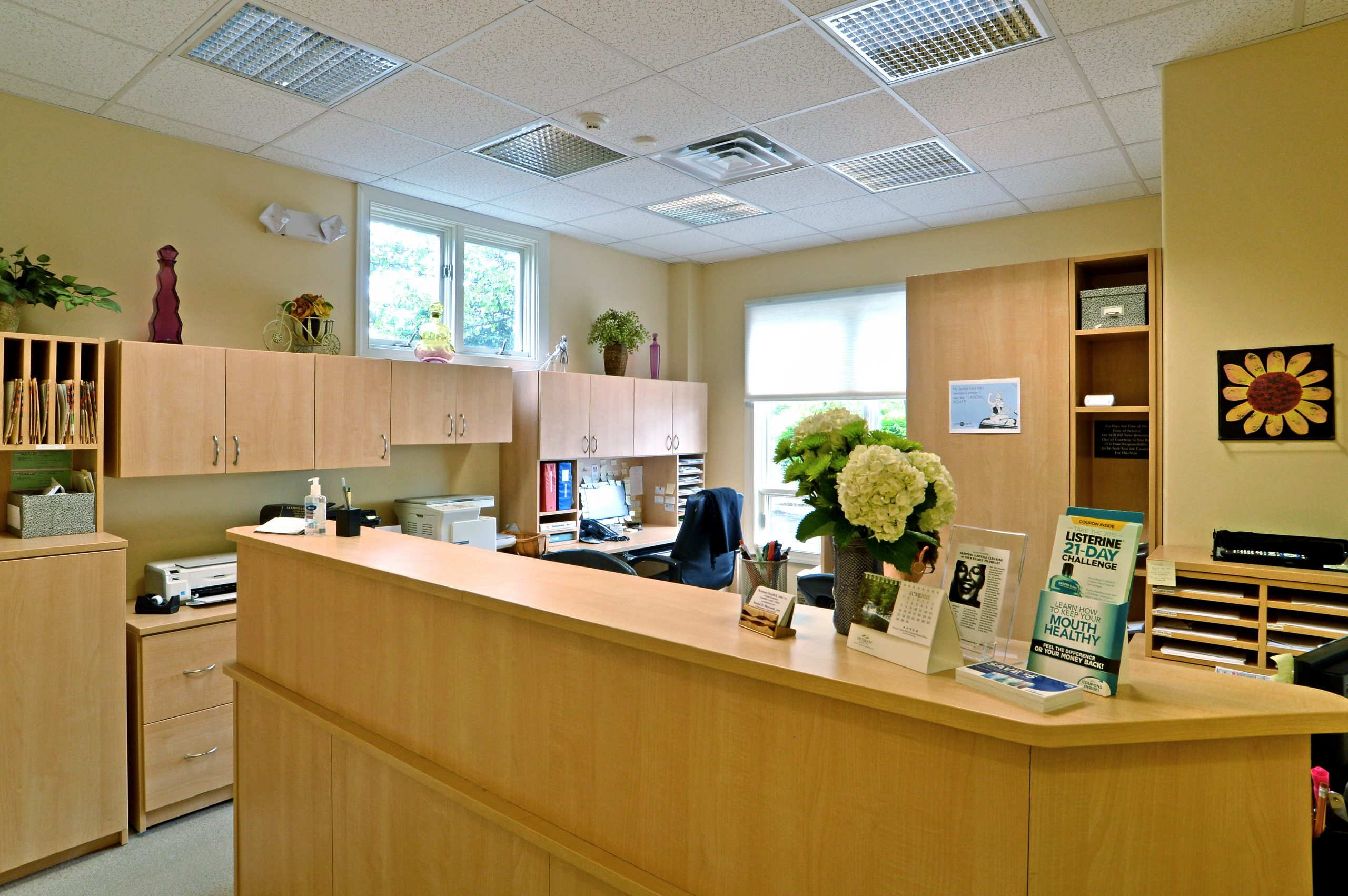Dental And Medical Office Reception Area Design