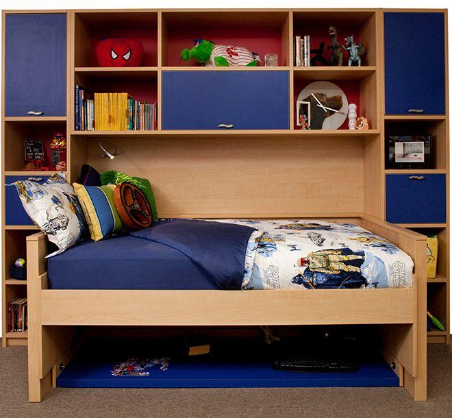 Hideaway bed wish space saving desk option