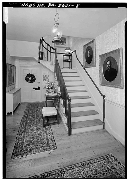 Historical home staircase
