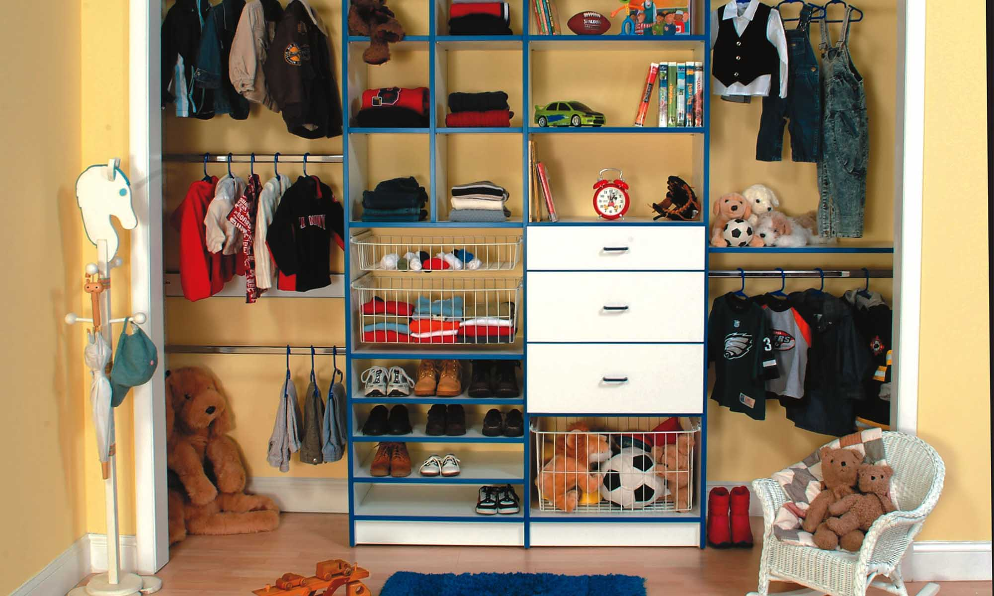 Smart Ways to Organize Your Kids Closet